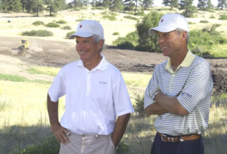Bill Coore and Ben Crenshaw