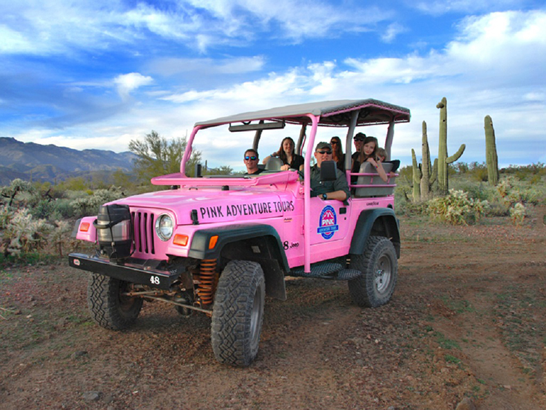 Pink Adventures Tours Revs Up Operations At Fort McDowell Adventures