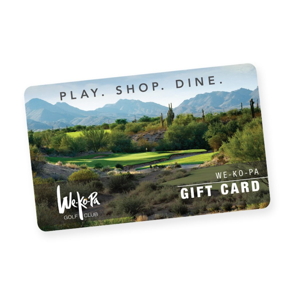 Gift Card to Wekopa Golf Club