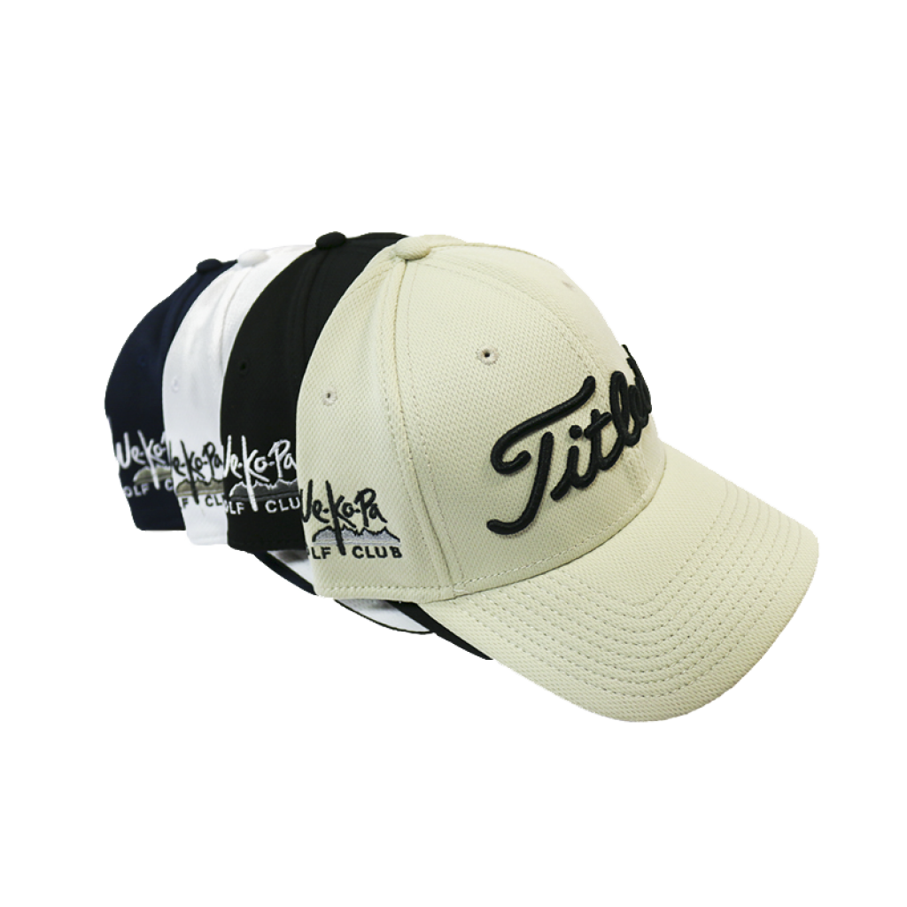 T-Tech Perfomance Mesh Fitted Cap by Titleist
