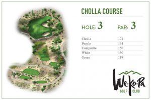 how to play We-Ko-Pa Golf Club Cholla Hole 3