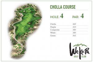 how to play We-Ko-Pa Golf Club Cholla Hole 4