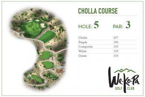 how to play We-Ko-Pa Golf Club Cholla Hole 5