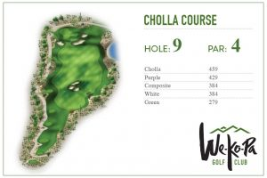 how to play We-Ko-Pa Golf Club Cholla Hole 9